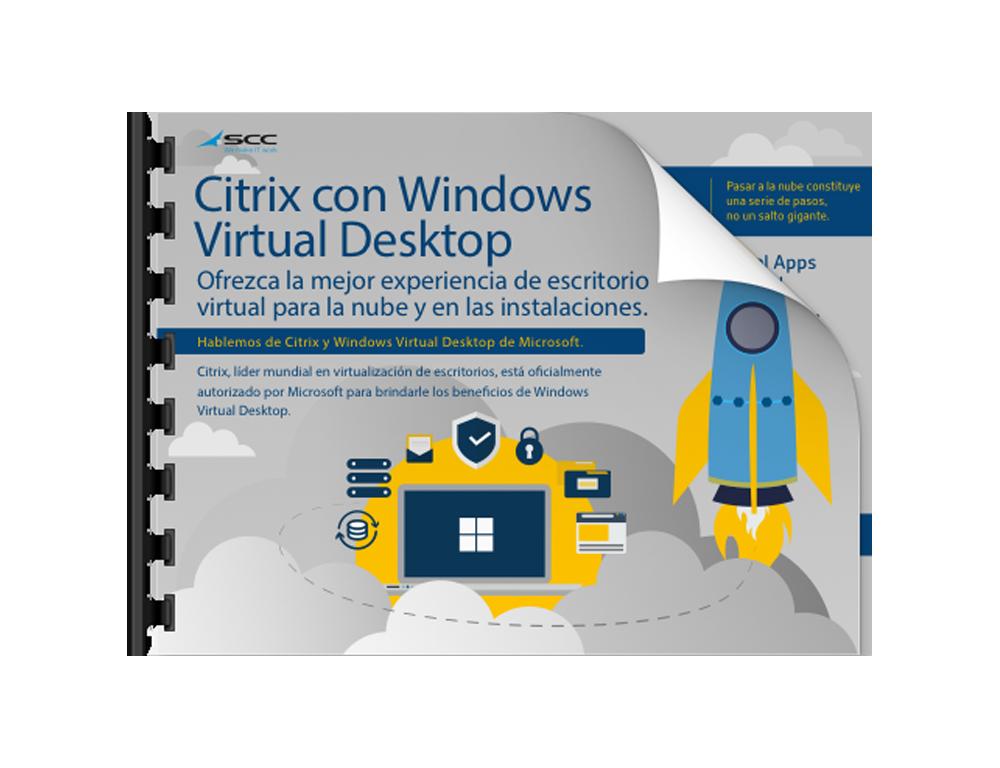 Sus trabajadores necesitan la mejor experiencia de escritorio virtual para la nube y on premise